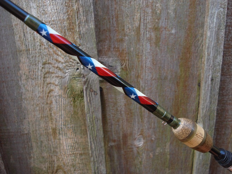 Coastal bend custom rods texas built custom fishing rods for Personalized fishing pole