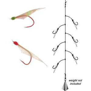 Coastal bend custom rods sabiki rods for Best bait for saltwater pier fishing